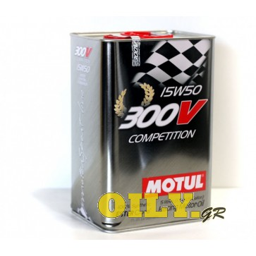 Motul 300V Competition 15W50 - 5 λιτρα