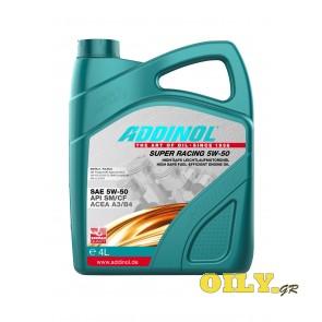 Addinol Super Racing 5W-50 - 4 λίτρα