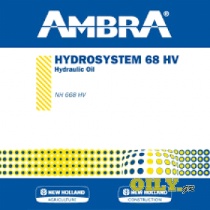New Holland Ambra Hydrosystem 68HV 200 литра