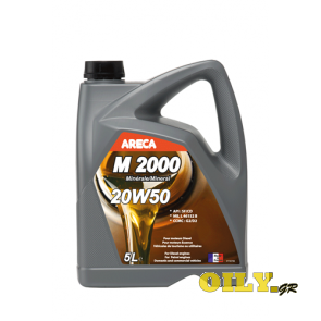 Areca M2000 20W50 - 5 λιτρα