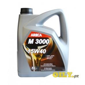 Areca M3000 15W40 - 5 λιτρα