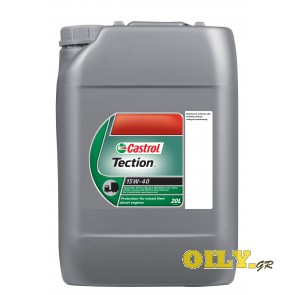 Castrol Tection 15W40 - 20 λιτρα