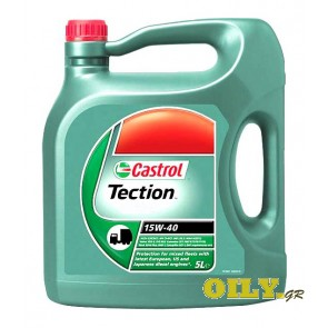 Castrol Tection 15W40 - 5 λιτρα