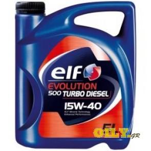 Elf Evolution 500 Turbo Diesel 15W40 - 5 λιτρα