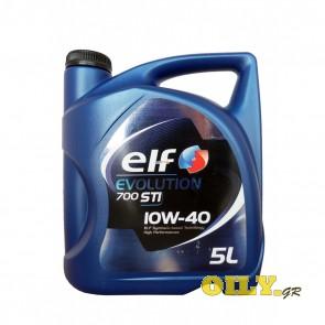 Elf Evolution 700 STI 10W40 - 5 λιτρα