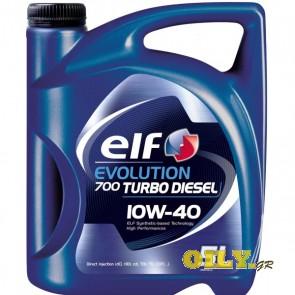 Elf Evolution 700 Turbo Diesel 10W40 - 5 λιτρα