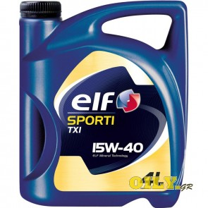 Elf Sporti TXI 15W40 - 4 λιτρα