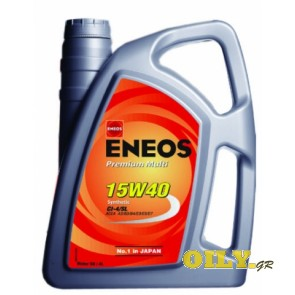 Eneos Premium Multi 15W40 - 4 λιτρα