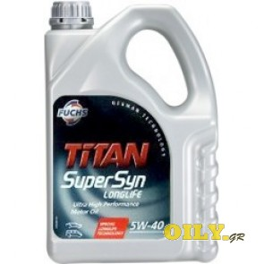 Fuchs Titan SuperSyn Longlife 5W-40 - 4 λιτρα