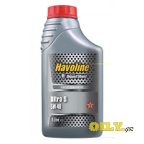 Havoline Ultra S 5W40 - 1 λιτρο
