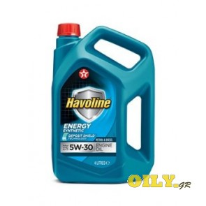 Havoline Energy 5W30 - 4 λιτρα