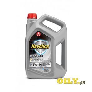 Havoline Ultra S 5W40 - 4 λιτρα
