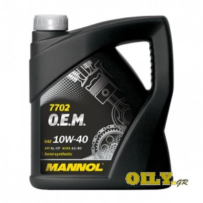 Mannol O.E.M. 10W40 for Chevrolet/Opel - 4 λιτρα