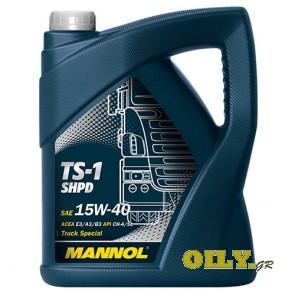 Mannol TS-1 SHPD 15W40 - 5 λιτρα
