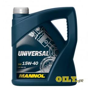 Mannol Universal 15W40 - 4 λιτρα