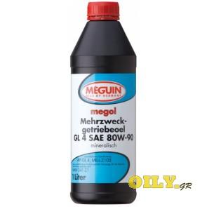 Meguin Mehrzweckgetriebeoel GL4 80W90 - 1 λιτρο