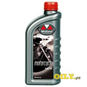 Midland Motorcycle SAE 50 - 1 λιτρο