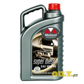 Midland Super Diesel 10W40 - 4 λιτρα