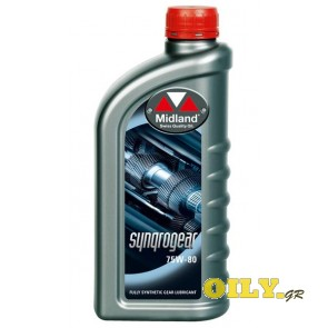 Midland SynqroGear 75W80 - 1 λιτρο