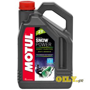 Motul Snow Power 2T - 4 литра