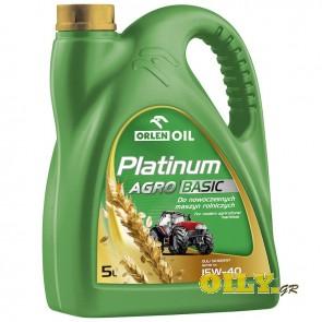 Orlen Platinium Agro Basic 15W40 - 5 λιτρα