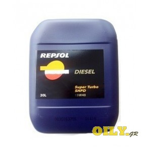 Repsol Diesel Super Turbo SHPD 15W40 - 20 λιτρα