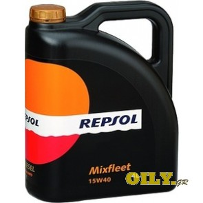 Repsol MIXFLEET 15W40 - 4 λιτρα