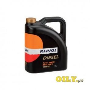Repsol Diesel Turbo UHPD 10W40 Mid SAPS - 5 λιτρα