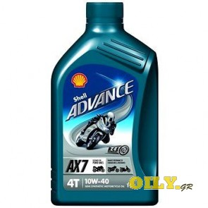 Shell Advance 4T AX7 10W40 - 1 λιτρο