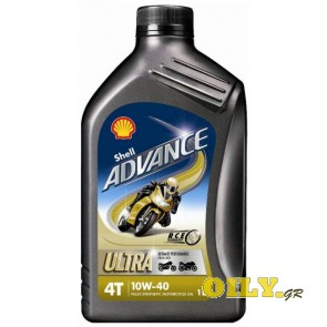 Shell Advance 4T Ultra 10W40 - 1 λιτρο