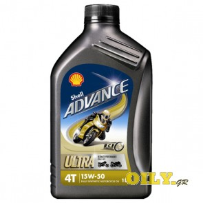 Shell Advance 4T Ultra 15W50 - 1 λιτρο