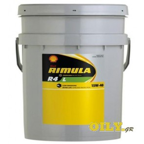 Shell Rimula R4 L 15W40 - 20 λιτρα