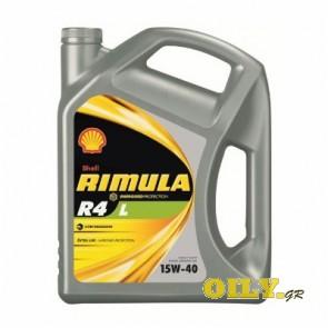 Shell Rimula R4 L 15W40 - 4 λιτρa