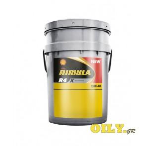 Shell Rimula R4 X 15W40 - 20 λιτρα