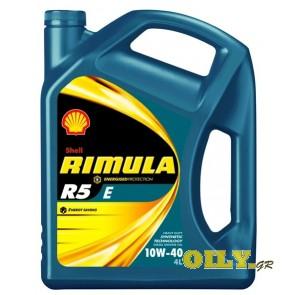 Shell Rimula R5 E 10W40 - 4 λιτρα