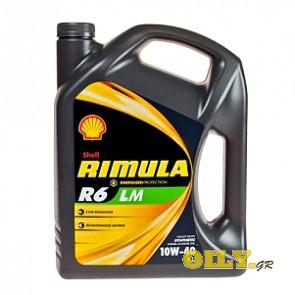Shell Rimula R6 LM 10W40 - 4 λιτρα