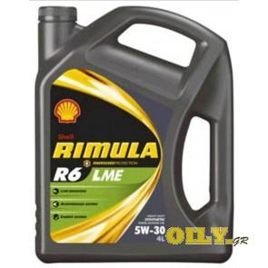 Shell Rimula R6 LME 5W30 - 4 λιτρα