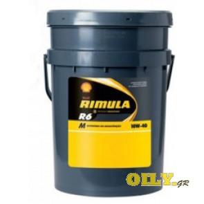 Shell Rimula R6 M 10W40 - 20 λιτρα