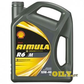 Shell Rimula R6 M 10W40 - 4 λιτρα