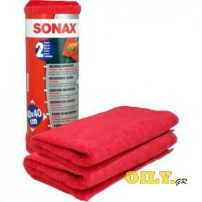 Sonax Microfibre Cloths - 2 αριθμό