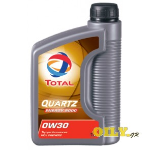 Total Quartz 9000 ENERGY 0W30 - 1 λιτρο