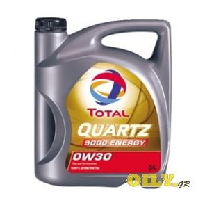 Total Quartz 9000 ENERGY 0W30 - 5 λιτρα