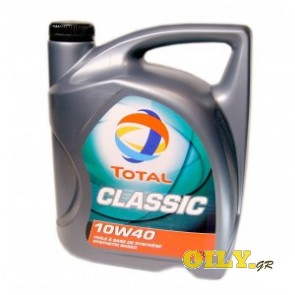 Total Classic 10W40 - 5 λιτρα