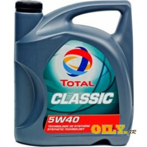 Total Classic 5W40 - 5 λιτρα