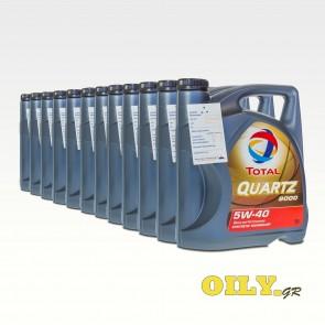 Total Quartz 9000 5W40 - 12 x 5 λιτρα
