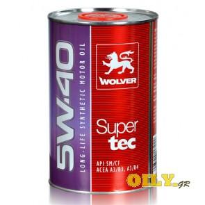 Wolver SuperTec 5W40 - 1 λιτρο