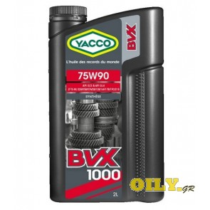 Yacco BVX 1000 75W90 - 2 литра
