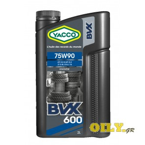 Yacco BVX 600 75W90 - 2 литра