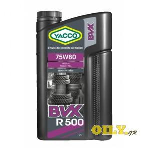 Yacco BVX R 500 75W80 - 2 литра